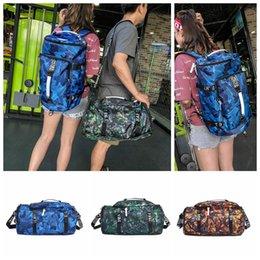 Orange green handbag online shopping - Camouflage Travel Bag Colors Large Capacity Multifunctional Backpack Portable Camping Sports Camo Shoulder Bag Girls Handbags pc OOA5441
