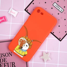 Metal Mobile covers online shopping - Orange Peking Opera facial Panda rusted soft shell men Fashion for iPhone s plus X soft silicone mobile back cover
