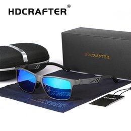 Discount hdcrafter sunglasses - HDCRAFTER Men Polarized Sunglasses Sun Glasses for Driving Rectangle Shades Glasses For Men Oculos masculino Male