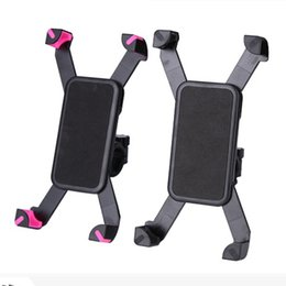 bike band phone holder 2019 - Adjustable Universal Motorcycle MTB Bike Bicycle Mount Holder Band For iPhone Samsung Cell Phone Panniers Cycling Access