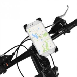 motorbike phone holders 2019 - 360 degree Rotation Universal Bicycle Bike Phone Holder for Motorbike Handlebar Mount for iPhone Samsung Xiaomi Phones H