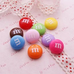 Mobile chocolate online shopping - DIY resin accessories accessories Simulated cream shell material Chocolate bean ornaments Nail adornment Mobile phone decoration