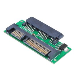 2.5 inch hard drive online shopping - New quot Micro SATA to Pin inch SATA Adapter Converter Card Fit in quot Hard Disk Drive