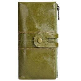 Mobile chocolate online shopping - Brand Bags men Stitching Genuine Leather multifunctional wallet mobile phone bag coin purse card holder day cowhide phone clutch wallets
