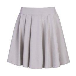 sweet girl school 2019 - Sweet Women Pleated Skirt Sweet School Skirt Black Grey Color Women Girls Dance Clothing Mini Skirts KH832347 cheap swee