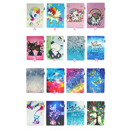 protective cover for kindle fire hd 2019 - For Kindle Fire HD10 2017,HD8 2016,Huawei MediaPad M5 10.8 8.4,M3 Lite 10 8 Wallet Leather Unicorn Flower Butterfly Pand