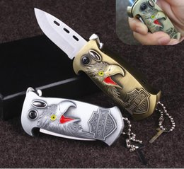 Knife lighters online shopping - Multifunctional folding knife lighter bottle opener creative metal windshield lighter