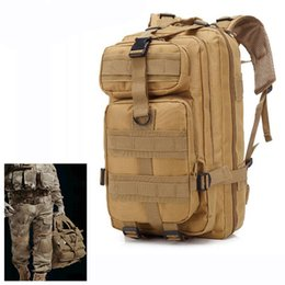 Discount 3p backpacks - 3P Outdoor Tactical Backpack 30L Oxford Bag Army Camping Rucksack Hiking Trekking Travel Cycling Camouflage Sport Bag