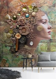 sexy backgrounds 2019 - 3d Wallpaper 3D Stereo Abstract Embossed Sexy Beauty Indoor Porch Background Wall Decoration Mural Wallpaper cheap sexy