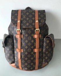 Mens black leather clutch bags online shopping - 123 CHRISTOPHER old flower backpacks shoulder bag clutch handbag luxury mens travel bag messenger package luggage package