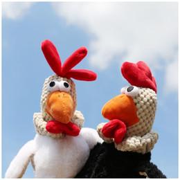 soft cocks toys 2019 - 2018 New Interesting big eyes chicken cock soft Doll Plush Toy Stuffed Plush Animals Decoration Festival wedding childre
