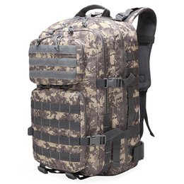 3p backpacks 2019 - Large Capacity Man Army Tactical Backpacks Assault Bags Outdoor 3P Molle Pack For Trekking Camping Hunting Bag cheap 3p