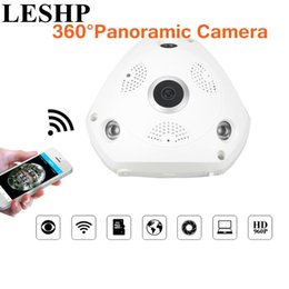 Wifi ip phones online shopping - LESHP Degree Panoramic WiFi IP Camera MP Video Surveillance Wifi Camera Home Security Wireless Monitor for Phones