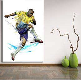 wallpaper panels 2019 - Roberto Carlos Wallpaper By Yann Dalon Wall Art Canvas Poster Print Canvas Painting Decorative Picture For Bedroom Home