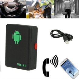 real phones for kids 2019 - Mini A8 Real Time Car GPS Tracker Global Locator Tracking Device GSM For Car Kid Pet DHL UPS Free