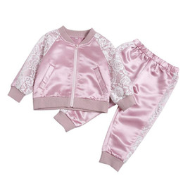 Wholesale Hollow Embroidery Stitching Bright Color Sports Suit Pieces Long Sleeve Top Pants Leggings Clothes Set