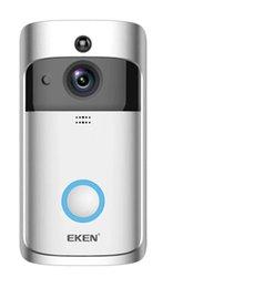 Wifi ip phones online shopping - Newest Original EKEN WIFI Doorbell Wireless Video Door Phone P HD PIR Intercom IP Camera Two way Audio Wide angle