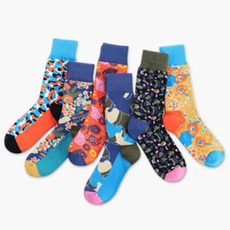 hiking socks for women 2019 - NEW Cotton Pattern Socks Riding Running Hiking Camping For Man Women Outdoor Sports Climbing Socks Calcetines Ciclismo N