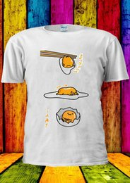 Discount egg shirt - Gudetama Lazy Egg Kawaii FUNNY Japan T-shirt Vest Men Women Unisex Cartoon t shirt men Unisex New Fashion tshirt