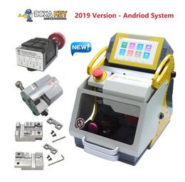 Holden online shopping - Top Quality SEC E9 Automatic Car Key Making Machine Laser Key Cutting Machine For Sale New Key Duplicator