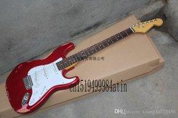 custom silver electric guitar 2019 - Free shipping Top Quality Robert Cray Silver Electric Guitar sss Pickups Custom body cheap custom silver electric guitar
