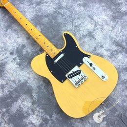 custom silver electric guitar 2019 - cream yellow transparent electric guitar, custom shop custom electric guitar, maple tree fingerboard, 21-tone grade, sil