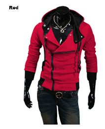 3xl cosplay costumes 2019 - 2019 Plus Size New Fashion Stylish Men Assassins Creed 9 Desmond Miles Costume Hoodie Cosplay Coat Jacket wholesale chea