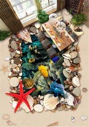 World moulds online shopping - Custom Wallpaper D Creative D Exquisite Ocean World Floor Interior Mural Wallpaper