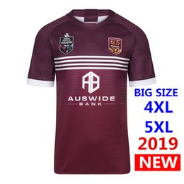 Discount xxxl free - DHL free shipping ! 2019 2020 MENS MAROONS JERSEY QLD rugby Jerseys Queensland Maroons Jersey Rugby League shirt S-5XL