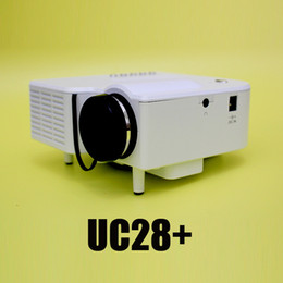 Wholesale-Factory Online Original UNIC UC28 + LED Mini Video LCD 1080P Home Theater Projector Full HD Proyector Beamer Projetor