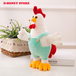 Discount soft cocks toys - 2017 New Cock Plush Toys Stuffed Animals 35cm Cock Dolls Kids Toys for Children Birthday Gifts Party Decor Soft Cartoon