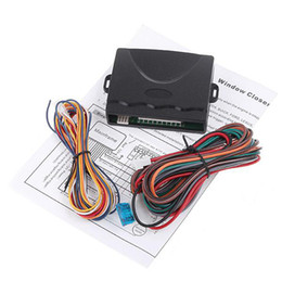 Intelligent Car Window closer, Power Window Roll Up Closer Module for Car Alarm 4 Door K409