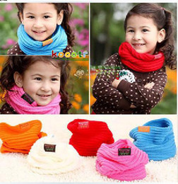 Hot Sale Baby scarf, Children's muffler autumn and winter New Fashion scarf 5 colors from liqian168