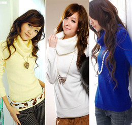 Korea the latest full hair, multi-color sweater, special sales sweater Drop shipping W4107