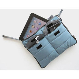 New Organzier Bag For IPAD Clutch Bag Notebook Case Nylon 2013 New 12pcs Lot Free Shipping ZH2013012