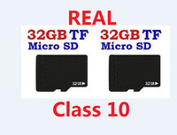 Wholesale Real GB Micro SD Memory Card Class class10 authentic GB MicroSD SDHC TF cards w adapter