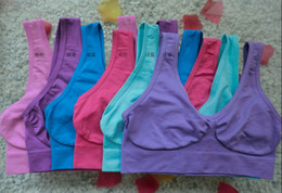 Hot Selling Bra Sizes Seamless Ladies Underwear Microfiber Pullover Bra Free Shipping