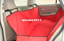 Wholesale - Free Shipping Pet Cover, Waterproof Dog Car Seat Cover, Pet Car Mat Red Color CH0138 0139 0153