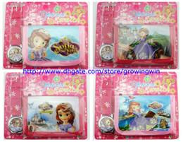 Fashion Gift watch kids wallet and watch sets high school musical 3 children boys girls quartz cartoon watches 200pcs/lot