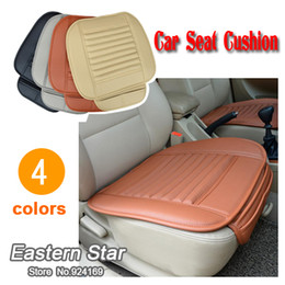 Car seat cushion slip-resistant cushion bamboo charcoal cushion four seasons comfortable fashion seat cover