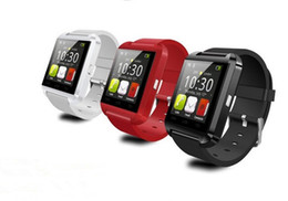 U8 Bluetooth Smart Watch U8 Watch Wrist Smartwatch for iPhone 4 4S 5 5S Samsung S4 S5 Note 2 Note 3 HTC Android Phone Smartphones 10pcs