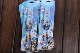 Frozen Princess Anna Elsa slap watches kids sports brand silicone Snap Slap Sport Watch jelly quartz watch kids gift with retail package