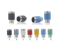 2014 Latest E Cigarettes Drip Tip PTFE Wide Bore Drip Tips S...