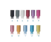 Rich Colors Aluminum Wide Bore Drip Tip Tube Drip Tip 510 EG...