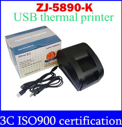 freeshipping black USB Port 58mm thermal Receipt pirnter POS printer low noise.printer thermal top sale free shipping