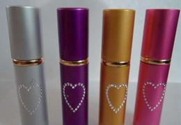 Wholesale free shipping lady lipstick style 10ML self defense pepper spray tear gas 5pcs a lot