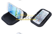Wholesale mobile phone car holder iphone for sale - Silicone magic Car Dashboard Sticky Pad Mat Anti Non Slip Holder mats Grips for iPhone PDA MP3 Mobile Phone