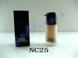 HOT Makeup Face Mineralize Moisture Foundation Liquid Spf15 30ML +gift