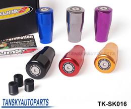 Tansky - 2013 New Universal Sk2 Racing Five Speed Car Shift Knobs (Blue,Black,Purple,Red,Golden,Gray) TK-SK016