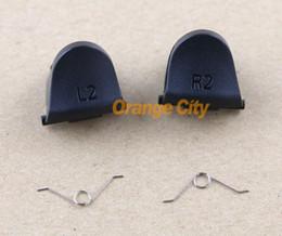 L2 R2 Trigger Replacement Parts Buttons For PS4 Controller 20pcs/lot=5pcs L2+5pcs R2+10pcs spring